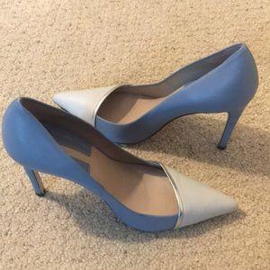 Zara light blue size 38 heels